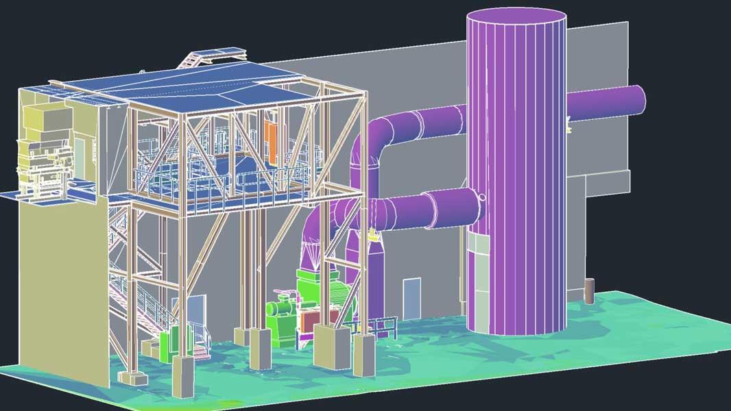 3ES | Laserscanning | opmeten | reengineering | tekening