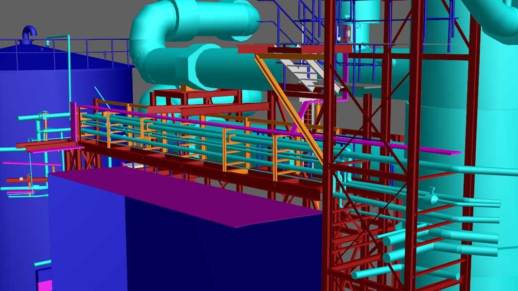 3ES | Laserscanning | opmeten industrie | as built