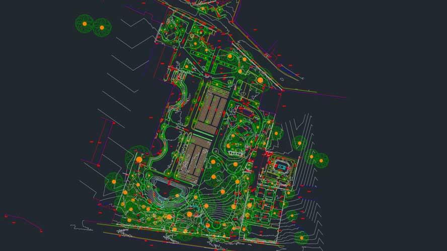3ES | Laserscanning | opmeting tuinen
