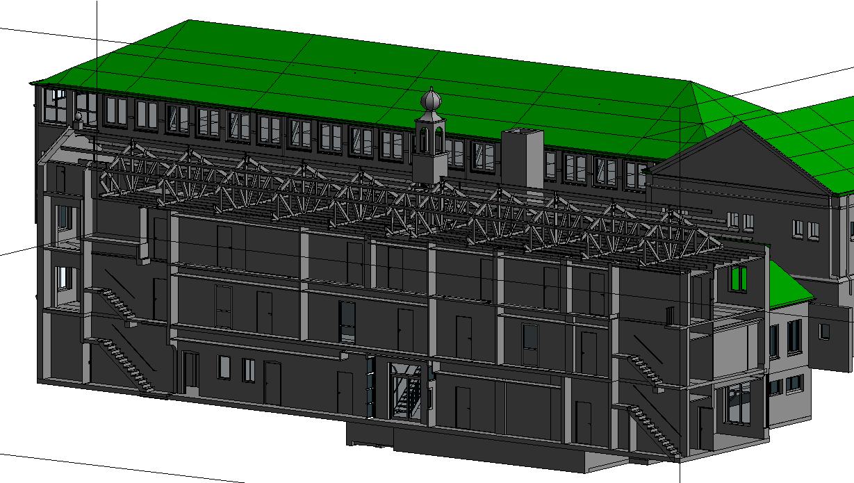 3ES   Laserscanning   opmeting gebouw