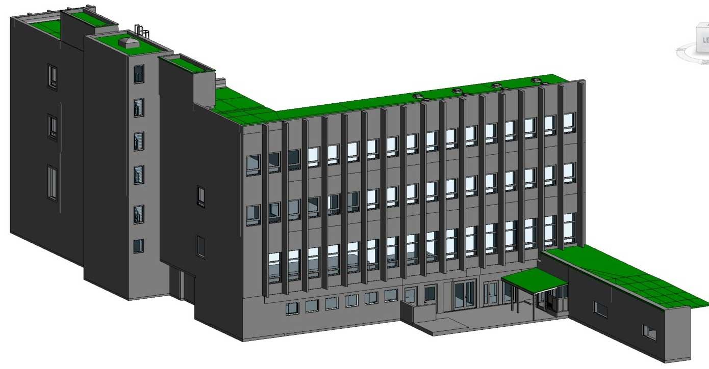 3ES | Laserscanning | opmeting gebouw